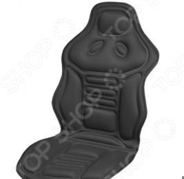 Накидка на сиденье с подогревом и терморегулятором SKYWAY с выпуклыми углами