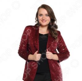 Пиджак Pretty Woman «Блеск звезды». Цвет: бордовый